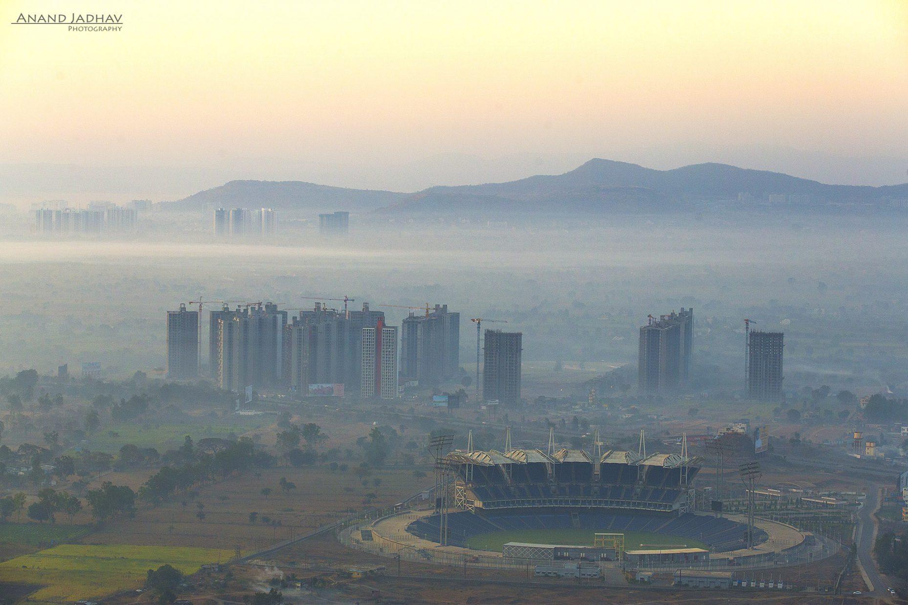 MCA Stadium, Gahunje
